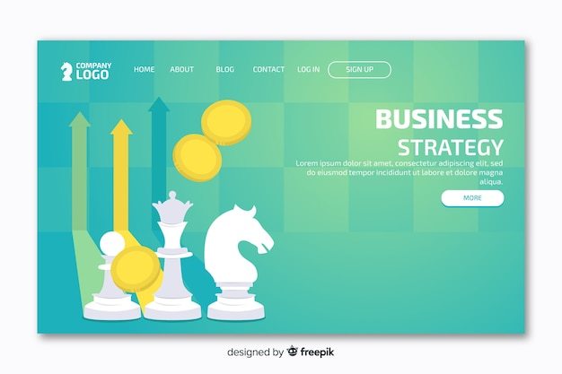 Landing page with cheese and green background