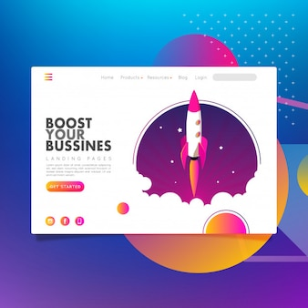 Landing pages boost your bussines