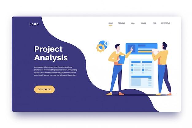 Landing pages анализ проекта