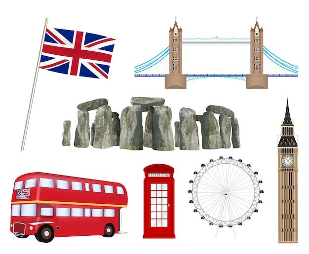 Landmark and icon of united kingdom england