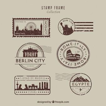 Коллекция марок landmark в винтажном стиле