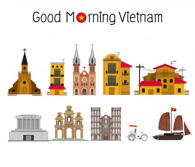 Landmarks of vietnam