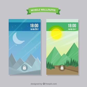 Пейзаж обои для мобильного