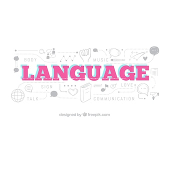 평면 디자인의 언어 구성