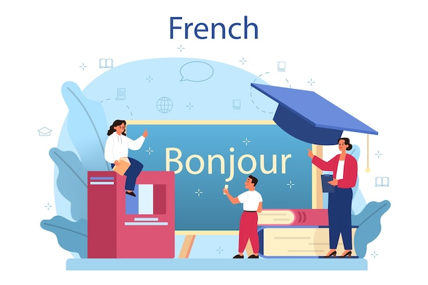 Language school french course