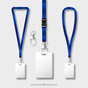Lanyard collection with realistic design