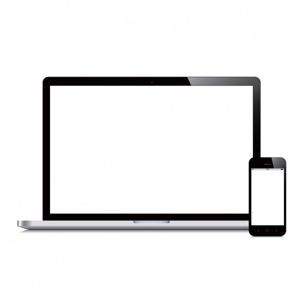 Laptop and mobile phone design