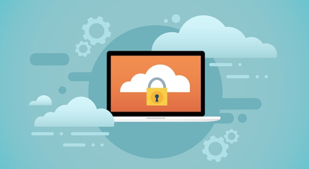 Laptop computer cloud database