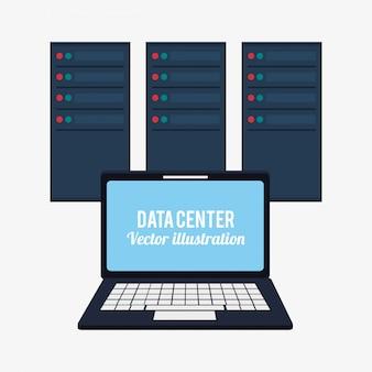 Laptop data center system developer
