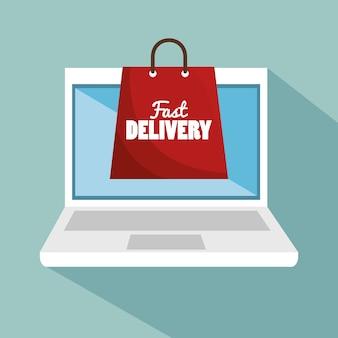 Laptop digital delivery fast