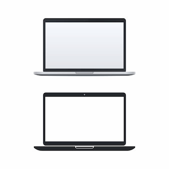 Laptop vector icons