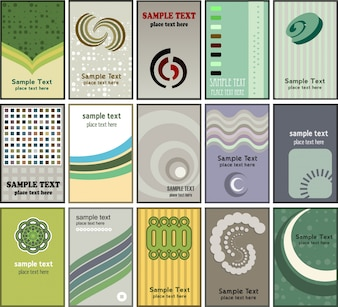 Large collection of various business cards
