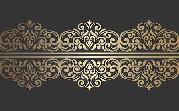 Laser cut border design. ornate vintage vector border template for laser cutting, stained glass, glass etching, sandblasting, wood carving, cardmaking, wedding invitations.