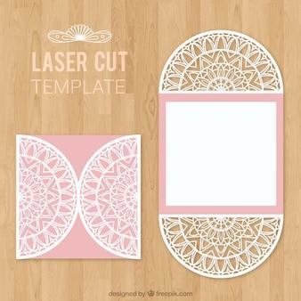 Laser-cut envelope