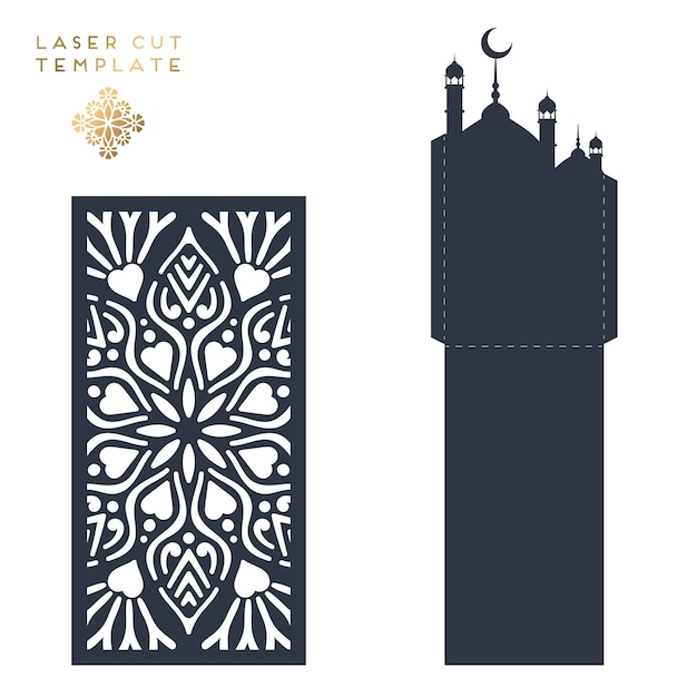 Free Laser cut islamic pattern SVG DXF EPS PNG - Download