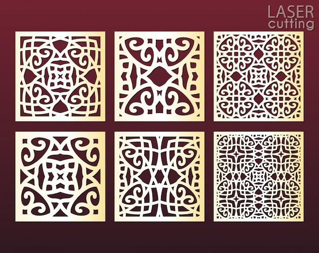 Лазерная резка декоративных панелей в восточном стиле