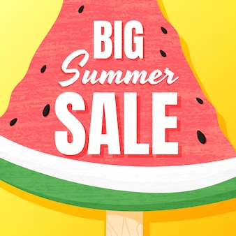 Last big summer sale banner