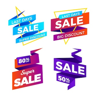Last days of sales banner discount