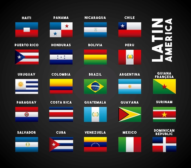 Latin america countries