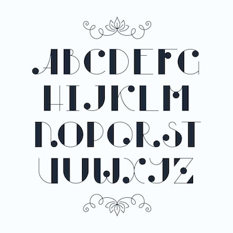 라틴어 우아한 귀여운 타이프 스크립트. 대문자, 단색 글꼴.
