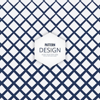 Lattice style geometric pattern