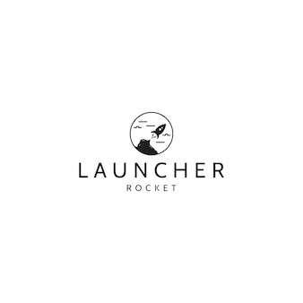 Launcher rocket logo