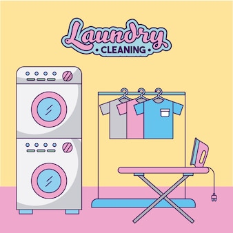 Laundry cleaning delicate