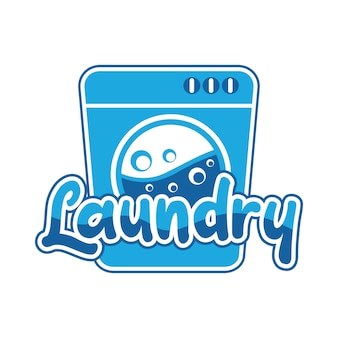 Laundry logo for your business