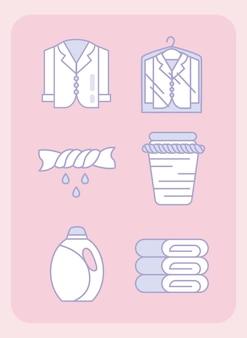 세탁 서비스 디자인