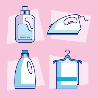 세탁 서비스 아이콘