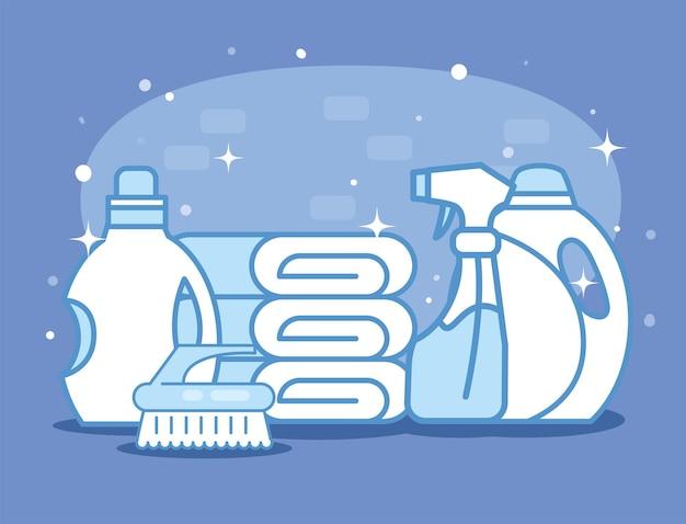 세탁 서비스 용품