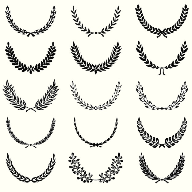 laurel wreath vectors photos and psd files free download rh freepik com laurel wreath vector free laurel wreath vector brush photoshop