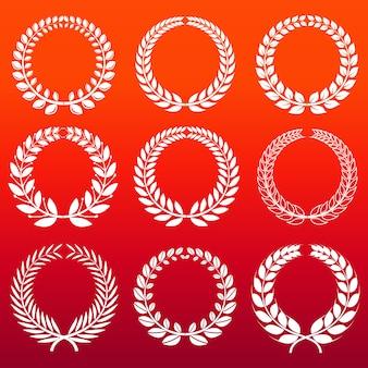 ローレルの花輪セット