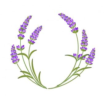 The lavender garland.