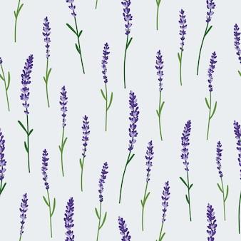 라벤더 패턴