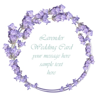 Lavender ring design