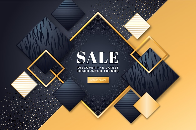 Lavish sale background