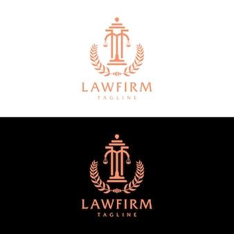 법률 사무소 컨셉 로고 디자인