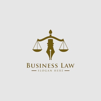 Law firm, lawyer services, luxury vintage crest logo