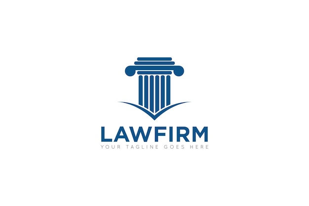 Law firm logo, icon, symbol template
