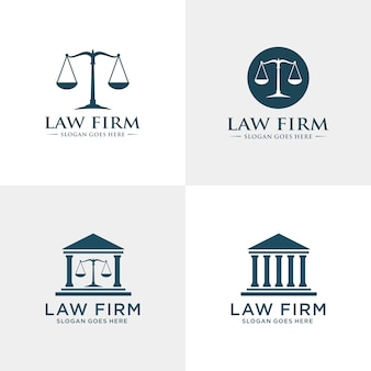 Law firm logo template