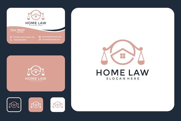 法律家のロゴデザインと名刺