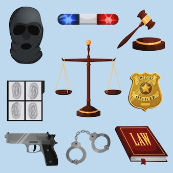 Law and justice elements set