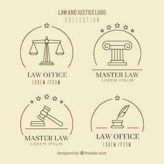Набор логотипов