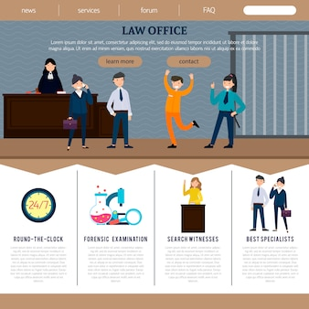 Law office web site template
