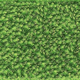 Газон бесшовные летом, зеленое поле текстуры