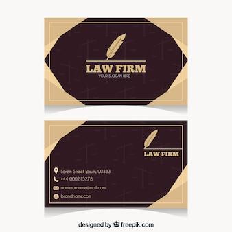 변호사 카드 템플릿