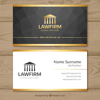 Business card vectors photos and psd files free download lawyer card template wajeb Image collections