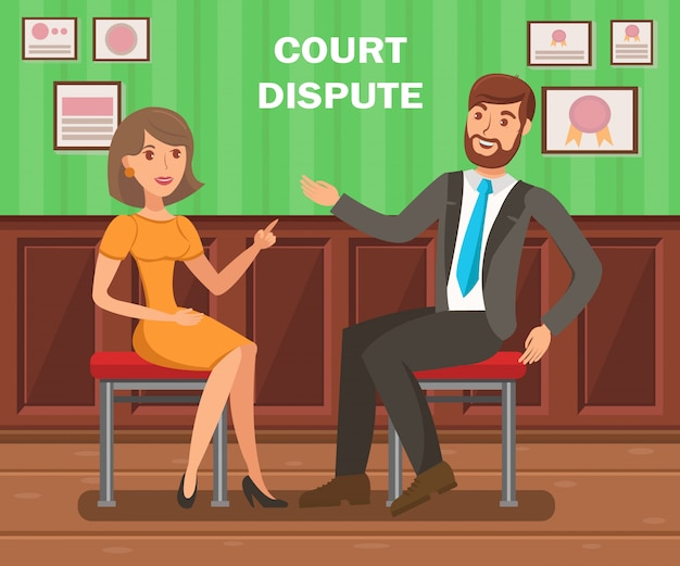 Lawyers court dispute
