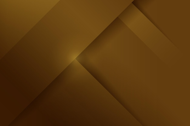 Layers of gold luxury shapes background